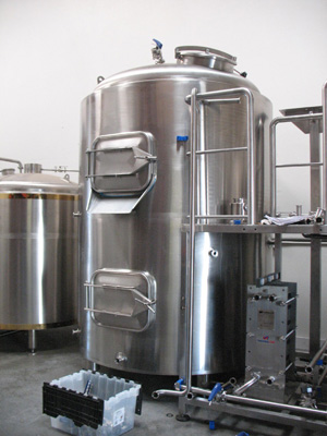 One-vessel brewery Breworx Lite WC