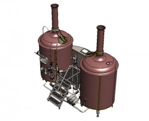 Brewhouse Breworx Classic - copper design