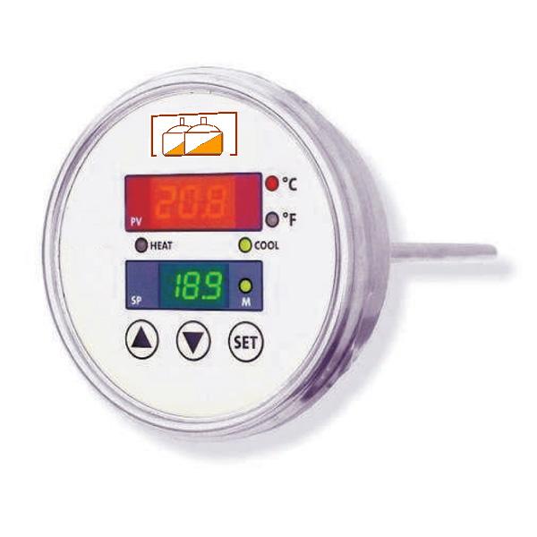Temperature regulator for beer tanks