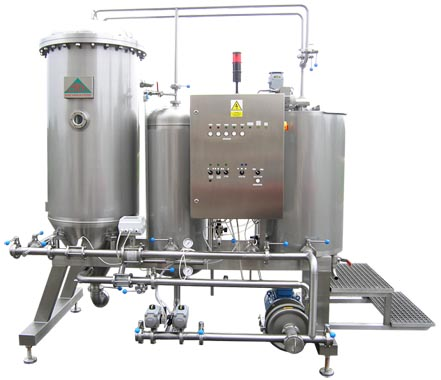Candle diatomaceous earth filter for breweries BREWORX / MOBBEER