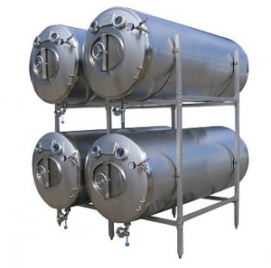 Maturation tanks