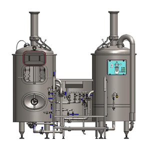 Brewhouse for microbreweries BREWORX CLASSIC 300