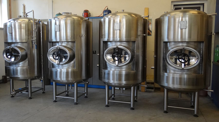 Pressure Bright Beer Tanks 600 liters