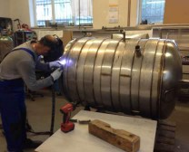 production of bright beer tank 500 liters