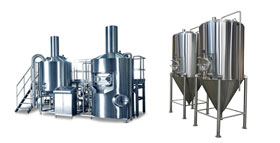 components for breweries and cider houses