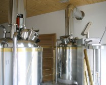 Brewhouse Brewory Lite-ME brewery Strachovice, Czech republic
