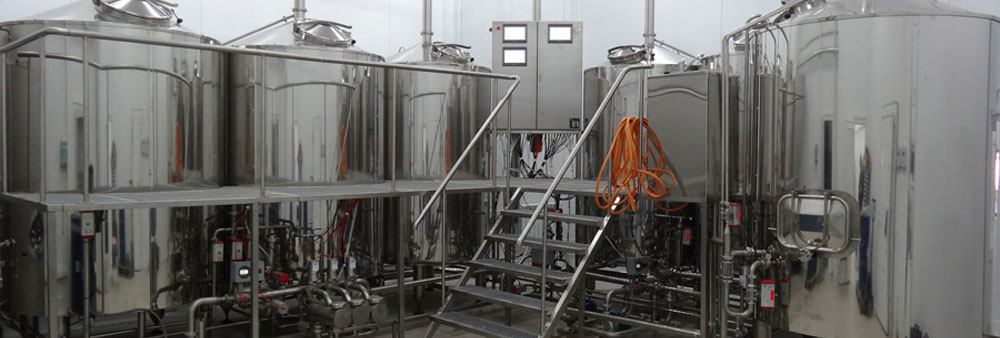 Industrial minibrewery brewhouse Oppidum