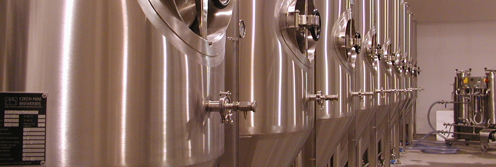 High quality equipment for effictive beer and cider production