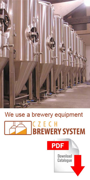 Brewery equipment product catalog
