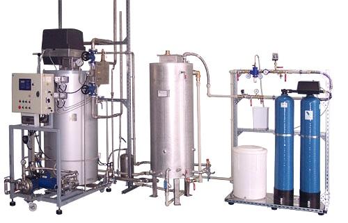 Gas steam generator set