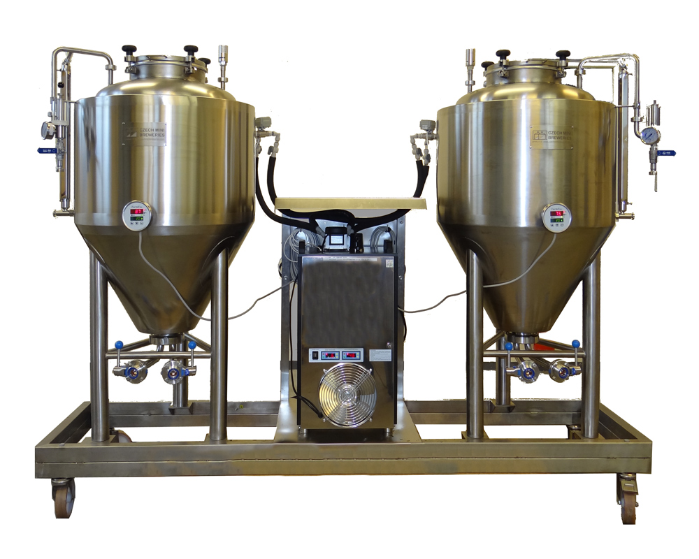 FUIC - Fermentation and maturation unit - with compact water cooler