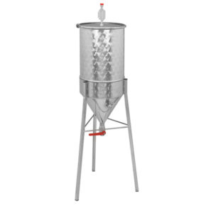 Simple beer conical fermentor for home brewers