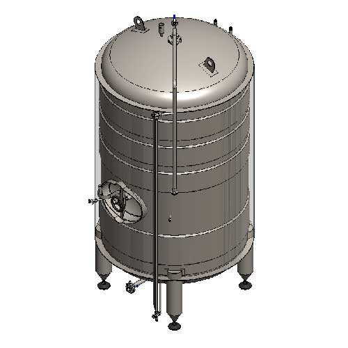 Beer maturation tanks