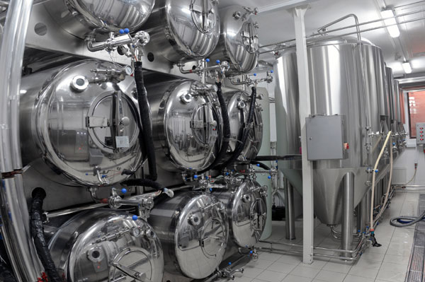 Production of micro breweries
