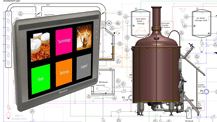service brewhouse modernisation - Components and equipment for production of beer and cider