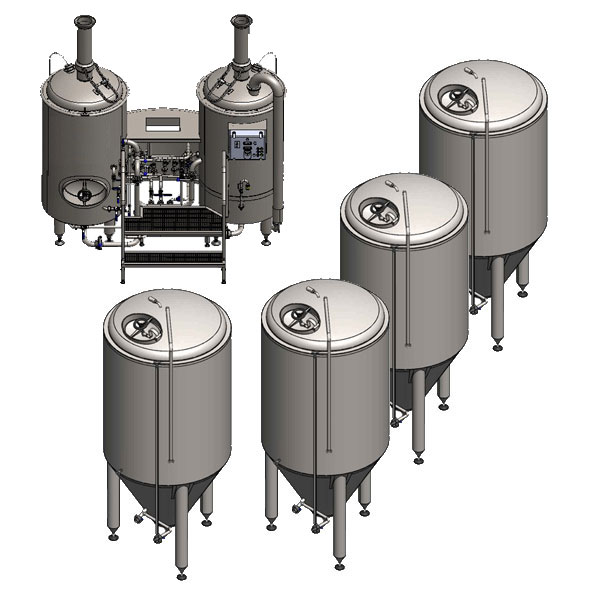 Breweries Microbreweries Fully Equipped Systems For