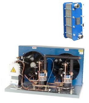 Liquid cooling system for breweries