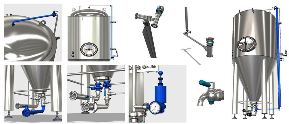Përbërësit CCT M 1000x430 - Zgjidhja 8th: CCTM tanke modulare cilindrike-konike të konikacionit