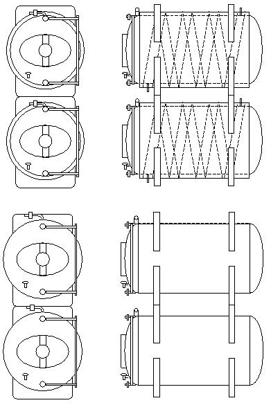 lager tanks horizontal