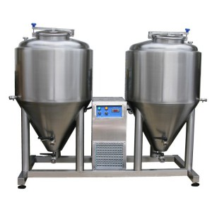 Fermentation - maturation unit 2x CCT 500 liters