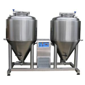 Njësia e fermentimit - maturimit 2x CCT 250 litra