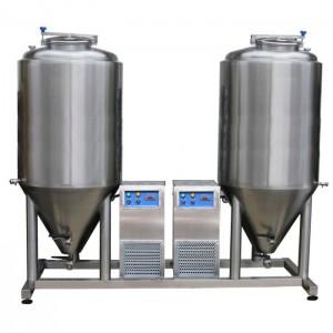 Fermentation - maturation unit 2x CCT 1000 liters