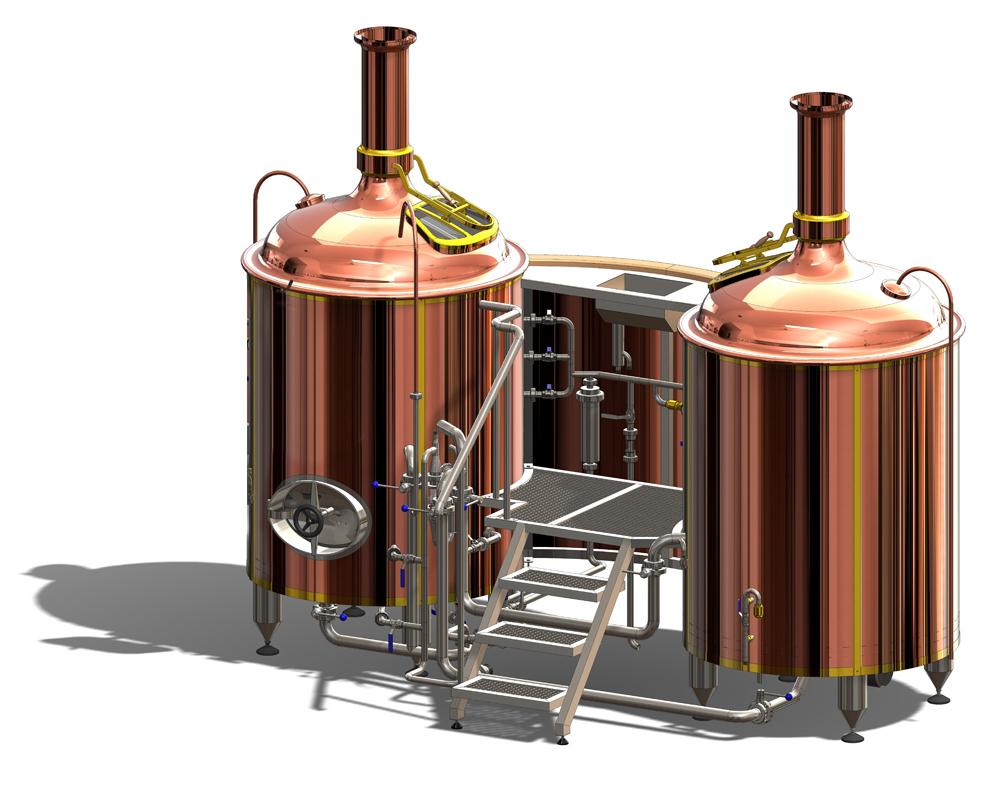 Brewhouses - makinat e birrës