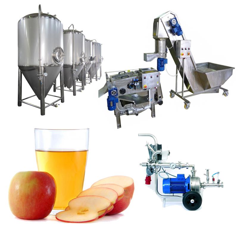 Sete Profi Cider Line - CiderLines - linjat e prodhimit të mushtit
