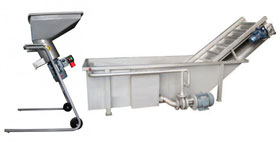 Fruit pressing equipment