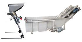 Fruit pressing equipment