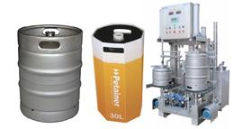 Lavatrice mbushëse për kegë 280x143 - Përbërësit dhe pajisjet për prodhimin e birrës dhe mushtit