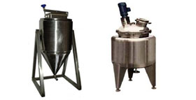 Yeast storage tanks