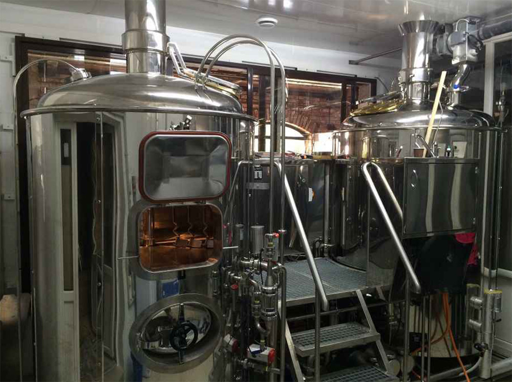 Brewhouse Breworx Classic Natural Stainless steel
