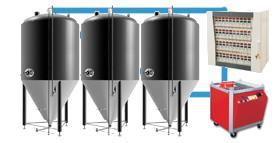 grupe të plotë të fermentimit të cfs 280x143 - Përbërësit dhe pajisjet për prodhimin e birrës dhe mushtit
