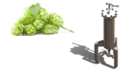 dry hopping 280x143 - Some of our good solutions for small breweries