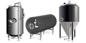 rezervuarët e birrës 300x150 - Përbërësit dhe pajisjet për prodhimin e birrës dhe mushtit
