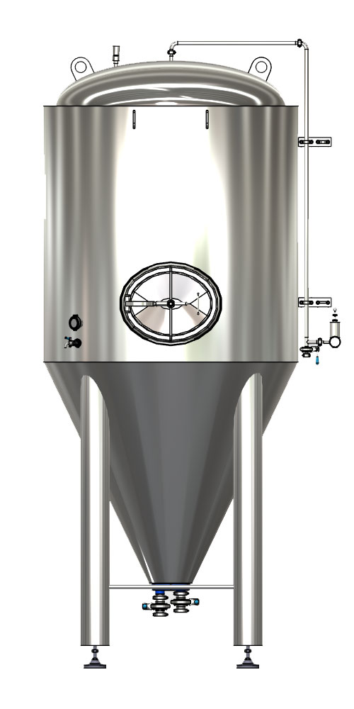 CCTM A1 001 1000x500 - CCT-M | Modular cylindrically-conical tanks (modular beer fermentors)