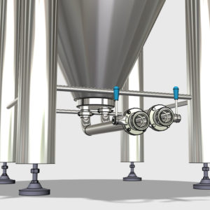 CCTM A3 008 600x600 300x300 - CCT-M | Modular cylindrically-conical tanks (modular beer fermentors)