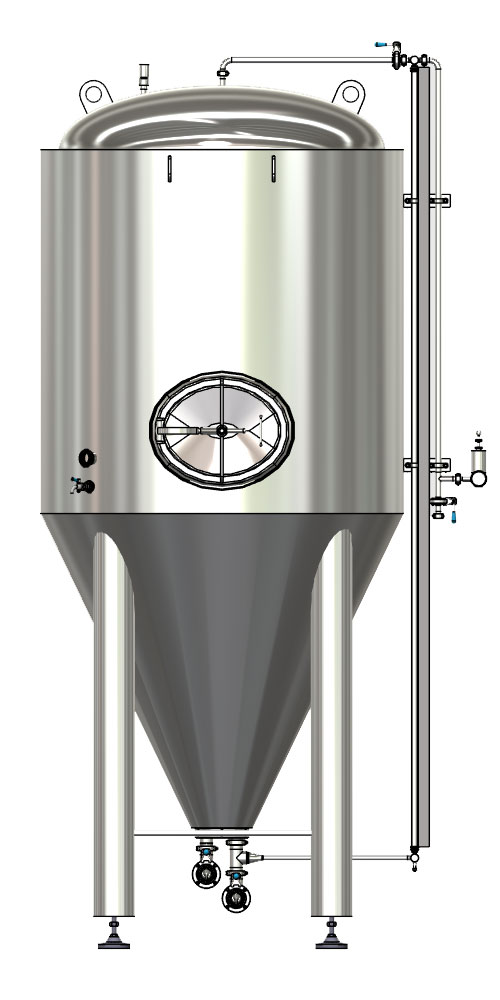 CCTM B1 001 1000x500 - CCT-M | Modular cylindrically-conical tanks (modular beer fermentors)