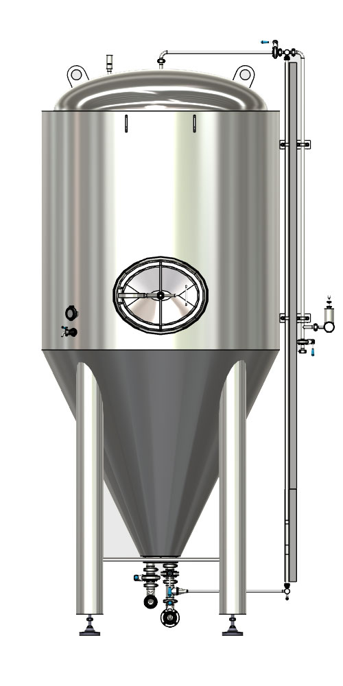 CCTM B2 001 1000x500 - CCT-M | Modular cylindrically-conical tanks (modular beer fermentors)