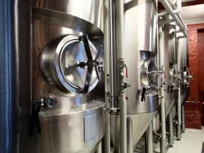 Equipment to fermentation and maturation of beer