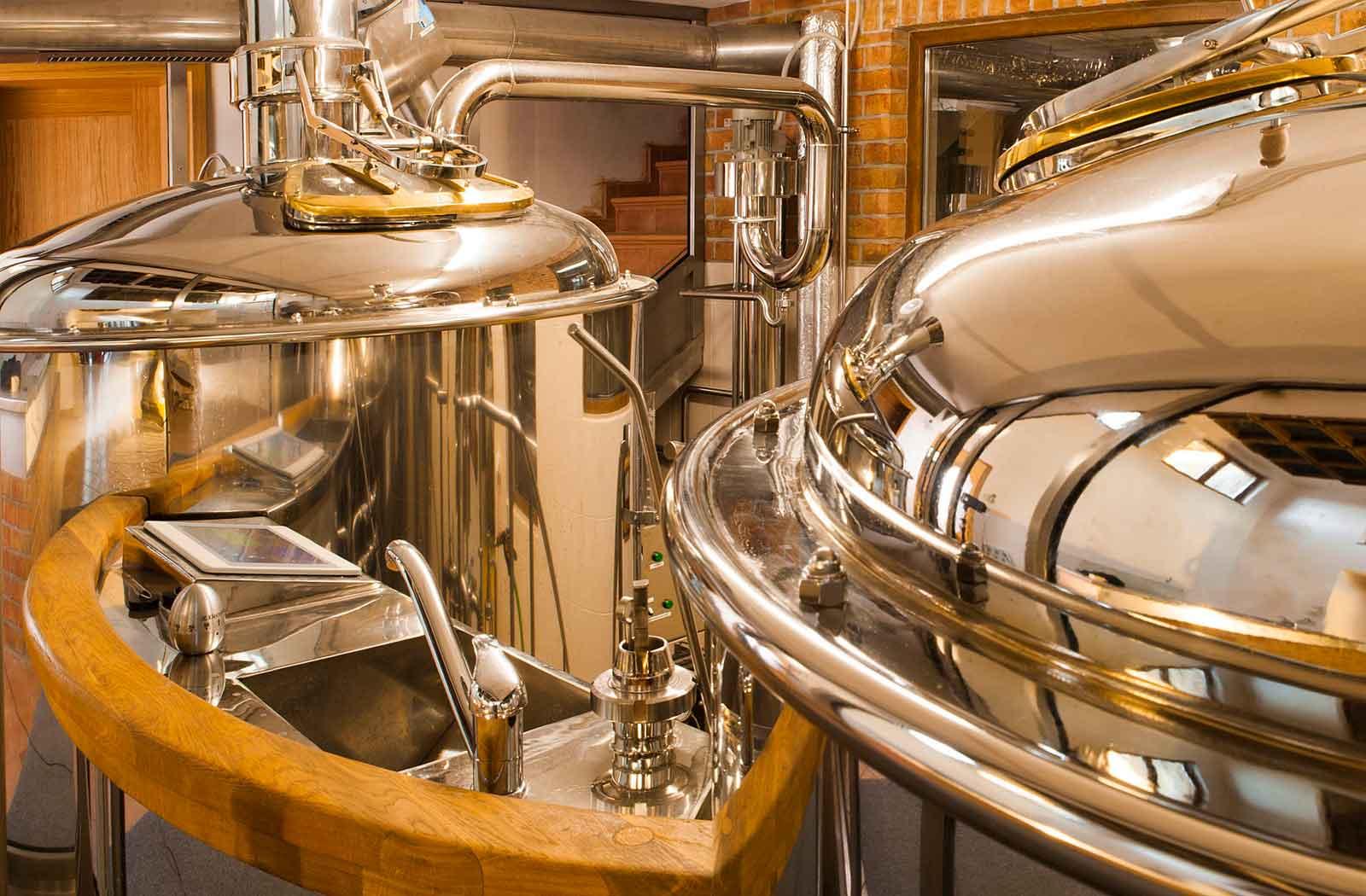 Attrezzature per la produzione di birra