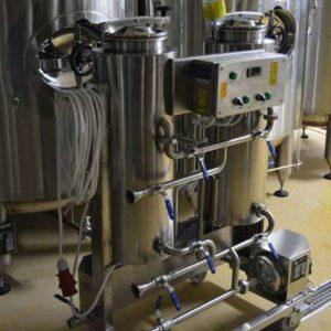 Podpůrné systémy pro pivovary