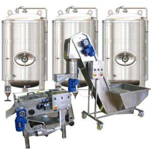 Linky na výrobu jablečného cideru - plně vybavené sady zařízení pro výrobu jablečného cideru