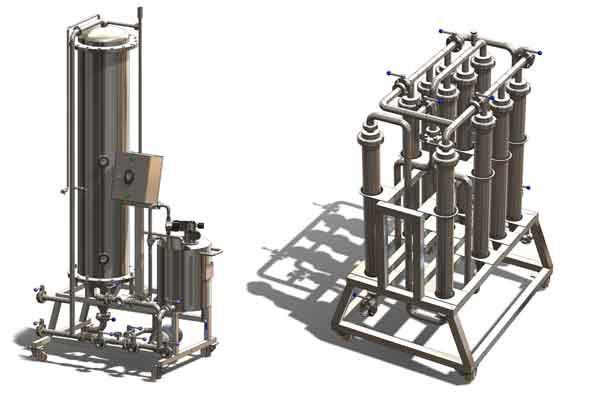 Оборудование для фильтрации сидра