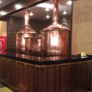 Breworx Classic 600 pivovar pro středně velké restaurace