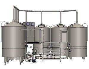 Breworx Oppidum 1000 brewhouse wort machine