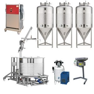 Small home brewery Braumeister