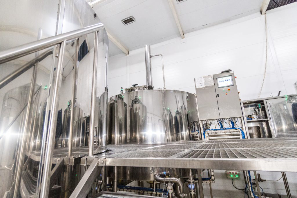 Breworx Oppidum industrial brewery - 01