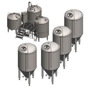 Breworx Compact industrial breweries